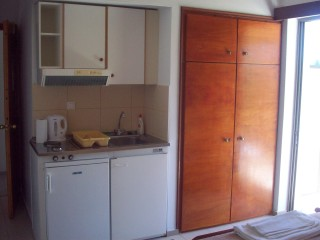 Apartment with kitchenette