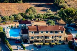 location ionis hotel aerial