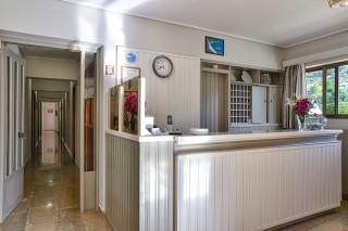 facilities ionis hotel reception area