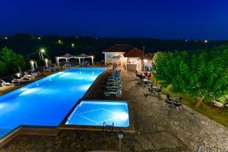 gallery ionis hotel pool night view